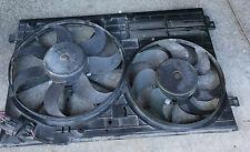 2006-2013 VW JETTA EOS GOLF GTI 2.0 RADIATOR COOLING FAN ASSEMBLY 1K0121205G