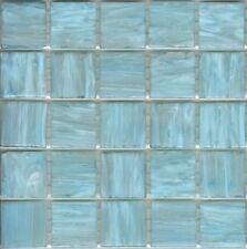 25pcs SM21 Ice Blue Bisazza Smalto Italian Glass Mosaic Tiles 2cm x 2cm