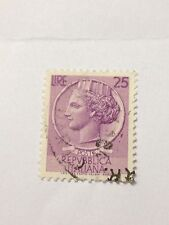 Italy 1 Italian Postage Stamp, Poste Repvbblica Italiana, MH, No Reserve!!!