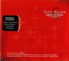 """CIRQUE DU SOLEIL """"TAPIS ROUGE: SOLARIUM CHILL"""" CD 2004 zing sealed b"""