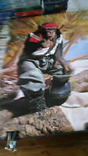 Chimp with rambo knife Chimp Commando 1980's vintage wall poster PBX3436