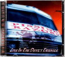 PISSING RAZORS - LIVE IN THE DEVIL'S TRIANGLE - 2002 16 TRACK CD ALBUM