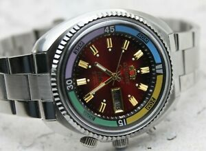 💥NEW ! Watch ORIENT King Diver KD AUTOMATIC ORIGINAL JAPAN RED Dial Sea King SK