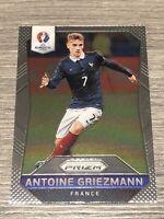Antoine Griezmann France Euro 2016 First Panini Prizm Base Card