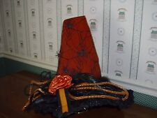 "CARSONS HALLOWEEN 18"" ORANGE WITCH HAT-NEW-AS SHOWN-2015"