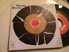 "BANDA MACHO - PICK UP THE PIECES 7"" SINGLE FUNK"