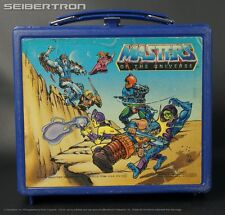 Masters of the Universe LUNCH BOX pail plastic 1983 vintage (NO thermos) MOTU