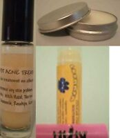 Natural Lip Balm Body Eczema Balm or Acne Stick U pick