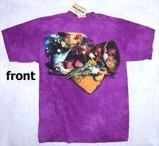 Mountain Flower Pots Purple T Shirt L New