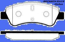 Bremsbeläge vorne Peugeot 307 Lim + Kombi Bj 00-08  für Bremsscheiben Ø 266mm VA