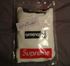 SUPREME x COMME DES GARCONS CDG Black BOX LOGO Hoody X-Large Pullover 2014