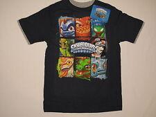 NWOT SKYLANDERS SPYRO'S ADVENTURE T shirt BOY youth size 14 navy blue