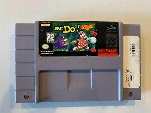 Mr. Do (Super Nintendo Entertainment System, 1996) game only