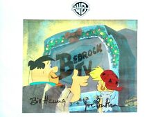 "Hanna Barbera signed numbered Cel ""The Flintstone Family Christmas"" 1993"
