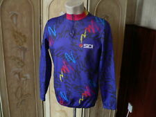 """sidi cycling jersey vintage long sleeve cycling top made in italy 40 / 42"""""""