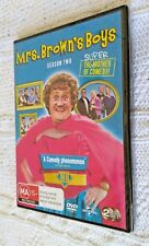 Mrs. Brown's Boys : Series 2 (DVD, 2-Disc Set) REGION-4, NEW, FREE POST AUS-WIDE