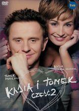 Kasia i Tomek cz. 2 (DVD) Joanna Brodzik, Pawel Wilczak POLSKI POLISH