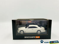 1/64 MINICHAMPS Bentley Brooklands 2006  White