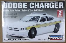 Dodge Charger Illinois State Police Lindberg 1/24 plastic model kit 72783