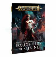 Battletome: Daughters of Khaine - Warhammer Age of Sigmar - Brand New!