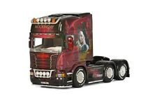 """WSI 01-1874 SCANIA R 6X2 TRACTEUR SOLO """" BERTHOLD HUNGER GAMES """" ARTICLE NEUF"""