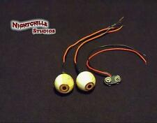 "Halloween,Props,""my Zombie is watching you"" custom-made UV prop eyes"" !!!!"