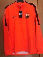 Raincoat shirt training CHAMPIONS FC Barcelona player version FCBarcelona MESSI
