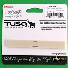 SILLET Graph Tech TUSQ PQ-9125 CHEVALET GUITARE Classic Bridge Blank Saddle Slab