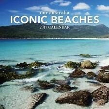 Our Australia Iconic Beaches 2018 Square Wall Calendar 30x30cm Paper Pocket