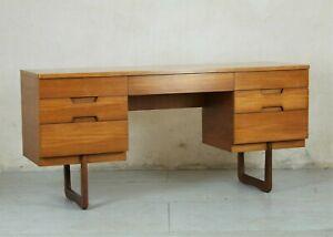 Teak desk by Gunther Hoffstead for Uniflex, Mid Century Modern 1960's
