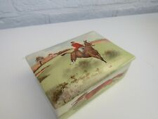 Royal Doulton Fox Hunting Trinket Box D5656