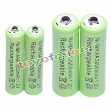 2+2 AAA AA 1800mAh 3000mAh NiMH Rechargeable Battery GN