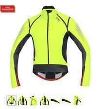 New Gore Bike Wear Xenon 2.0 Windstopper Soft Shell Jacket (XL Yellow with Tags)