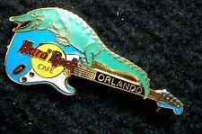 HRC Hard Rock Cafe Orlando Fender Stratocaster + Aligator Guitar