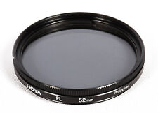 Hoya 52mm Polarizing Filter, Made in the Philippines - **EX**