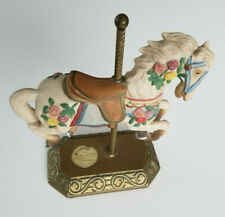 Carousel Horse Tobin Fraley Medallion Inlay Limited Edition, Signed and Numbered