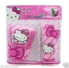 Hello Kitty Auto Car Shift & Hand Brake Cover 1 set of 2 pcs Pink Bow KK220