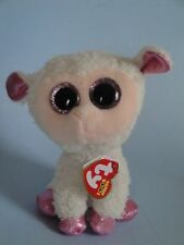 TY Beanie Boos DIXIE the Lamb Glitter Eyes 6in