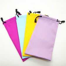 1X Microfiber Pouch Bag For Sunglasses  Glass Includes Lanyard & Cloth 18*9cm