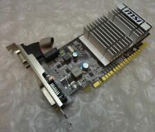 512MB MSI N8400GS-D512D3H/LP GeForce 8400GS PCIe VGA DVI Graphics Card