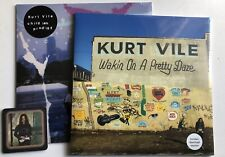 KURT VILE - WAKIN ON A PRETTY DAZE + CHILDISH PRODIGY 2 X SEALED RECORD Beer Mat