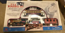 Its A Wonderful Life Bedford Falls Express Train Set G Scale Sounds & Light 1986
