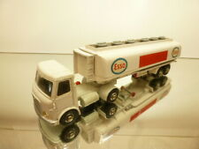 DINKY TOYS 945 AEC ARTICULATED LORRY + ESSO FUEL TANKER - GOOD CONDITION