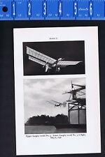 Langley Model No. 5 Aerodrome & Manly radial Engine -1939 Smithsonian Print