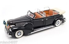 1939 Lincoln Sunshine Special Presidential Limousine 1:24 Lucky Die-Cast 24088