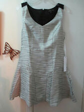 Adelyn Rae - V-neckline Sleeveless Woven Polyester Dress - Size S  -  New w/Tags