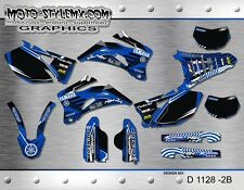 Yamaha WR250f 2007 up to 2014  WR450f  2007 up to 2011 decals sticker kit