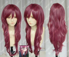 Kashiwagi Yuki Yukirin Purplish Red Lolita Cosplay Party Wig 323