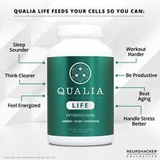 Qualia Life- Cell Energy For Optimized Aging Former Eternus- Neurohacker 160 Cap