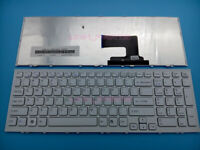 New For Sony VAIO VPC-EH VPCEH VPC-EH11FX/B VPC-EH11FX US English Keyboard White